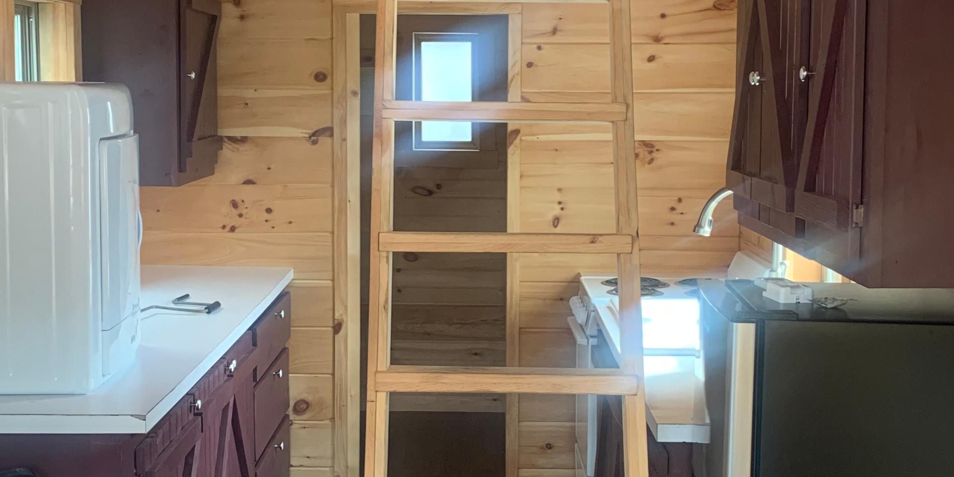 Inside of a Tiny House