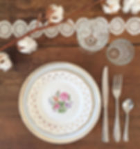 mariage Genève location vaisselle vintage scenographie