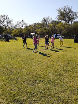 Deportes par alas mujeres Los Algarrobos