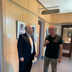 Mayor Will Haynie & Photographer Andy Allen