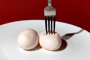 Rubber eggs