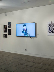 Fashion and fiction exhibition at UAL, 2020