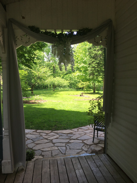 Our backyard - Summer