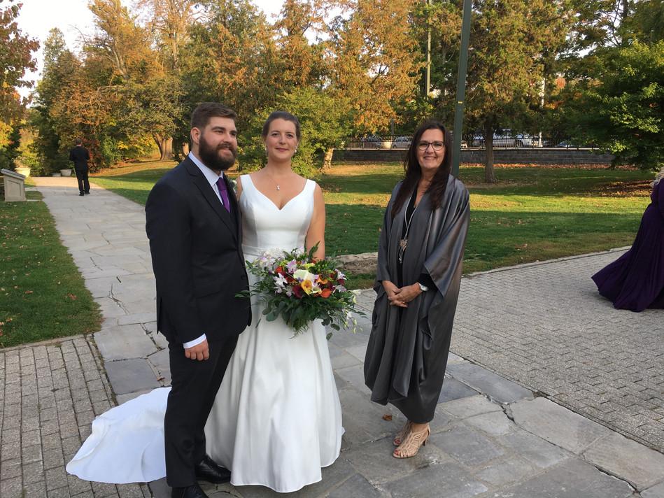 Queenston Heights wedding