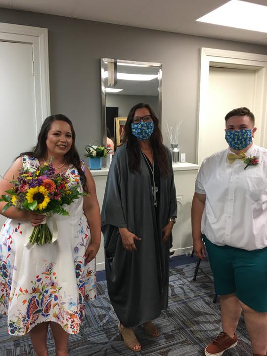 Church wedding in St. Catharines