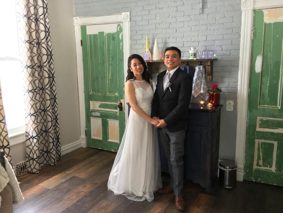 BnB winter wedding