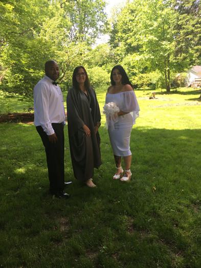 lora and bride groom.JPG