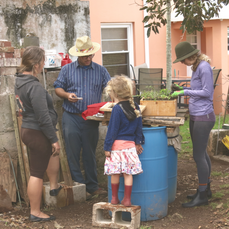 Barrel Improv Garden Class