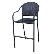 Wicker Bar Stool Chair