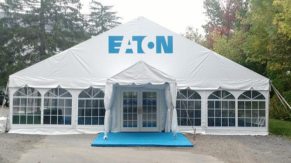 40' Wide Navi-Trac Frame Tents