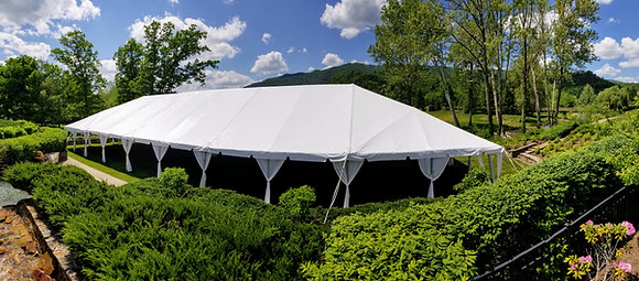 40' Wide Fiesta Frame Tents