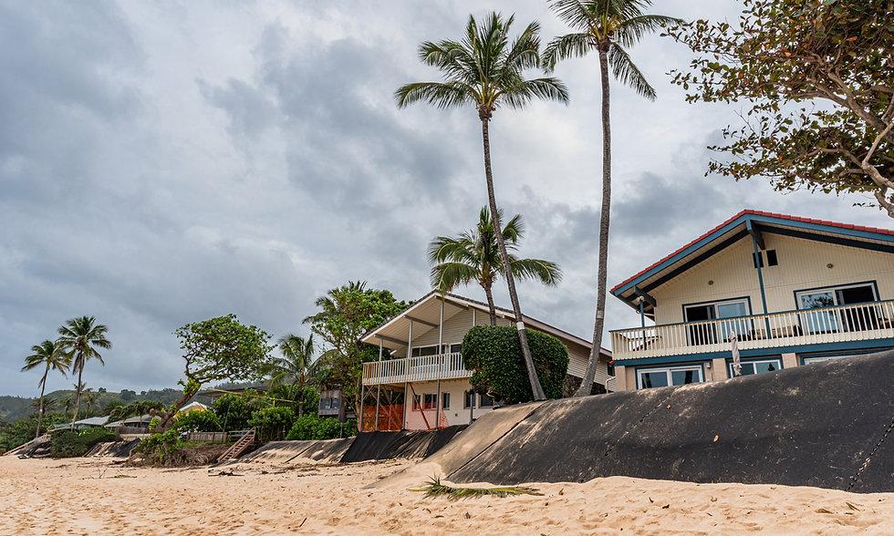 Homes on the beach Hawaii
