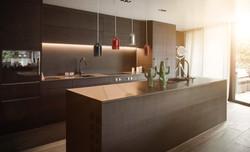 Gaz. in kitchen