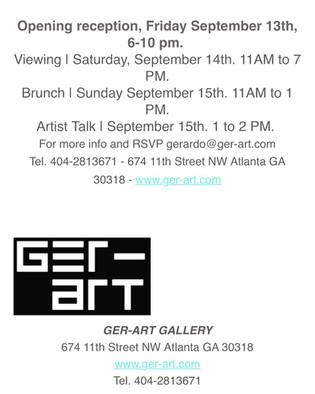GerART Gallery, Sept. 2019