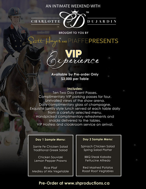 "Jouelle Kimura Wins 2 VIP tickets to ""An Intimate Weekend with Charlotte Dujardin"""