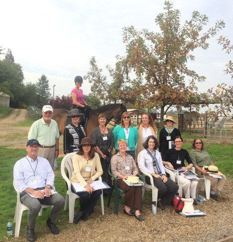 "Foothills Chapter Hosts USEF ""R"" Program at Clay Station"