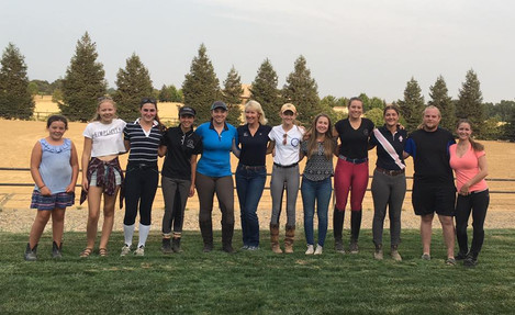 Kyla Marshall Attends Northern CA Junior/Young Rider Dressage Clinic with Charlotte Bredahl