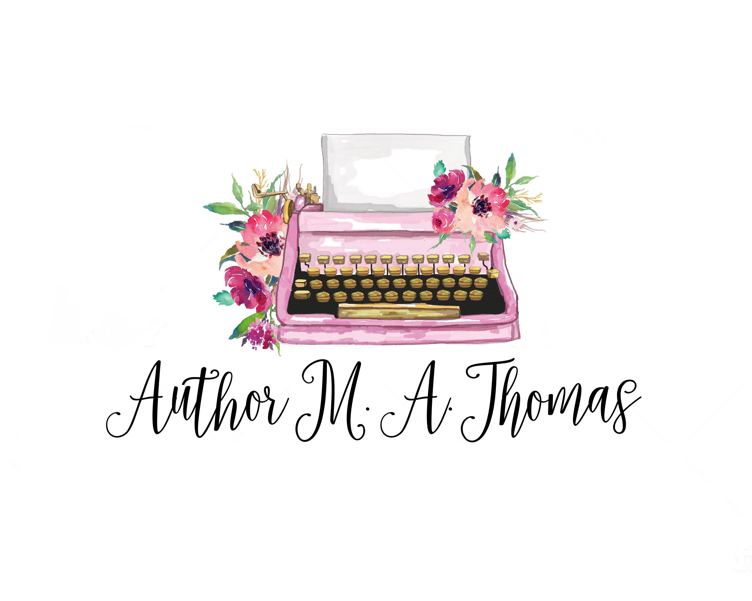Author MA THomas WHITE LOGO