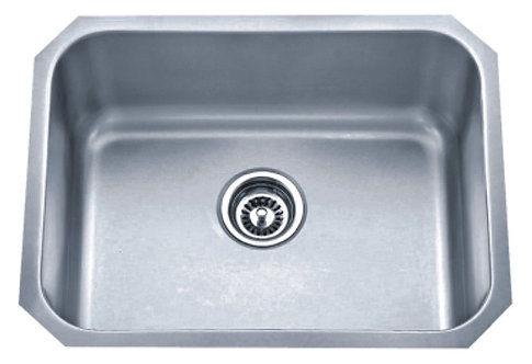 Square Large Single Bowl Undermount Sink - 867