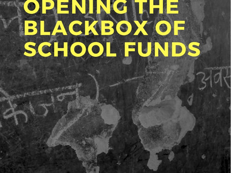 Policy Recommendation: Opening the Blackbox of School Funds