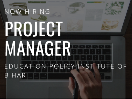 Vacancy: Project Manager