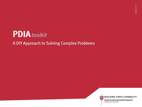 New resource: #PDIAtoolkit