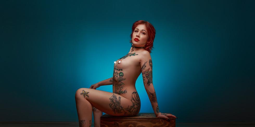 Fine Art Nude Glamour Portfolio Building Workshop with Catt Gee