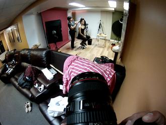 Behind The Scenes - Sofia Farkona