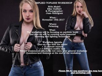 Implied Topless Workshop with Elka Guilbert