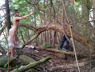 On-Location - Fairy Tail Photoshoot with Chanelle Garrow