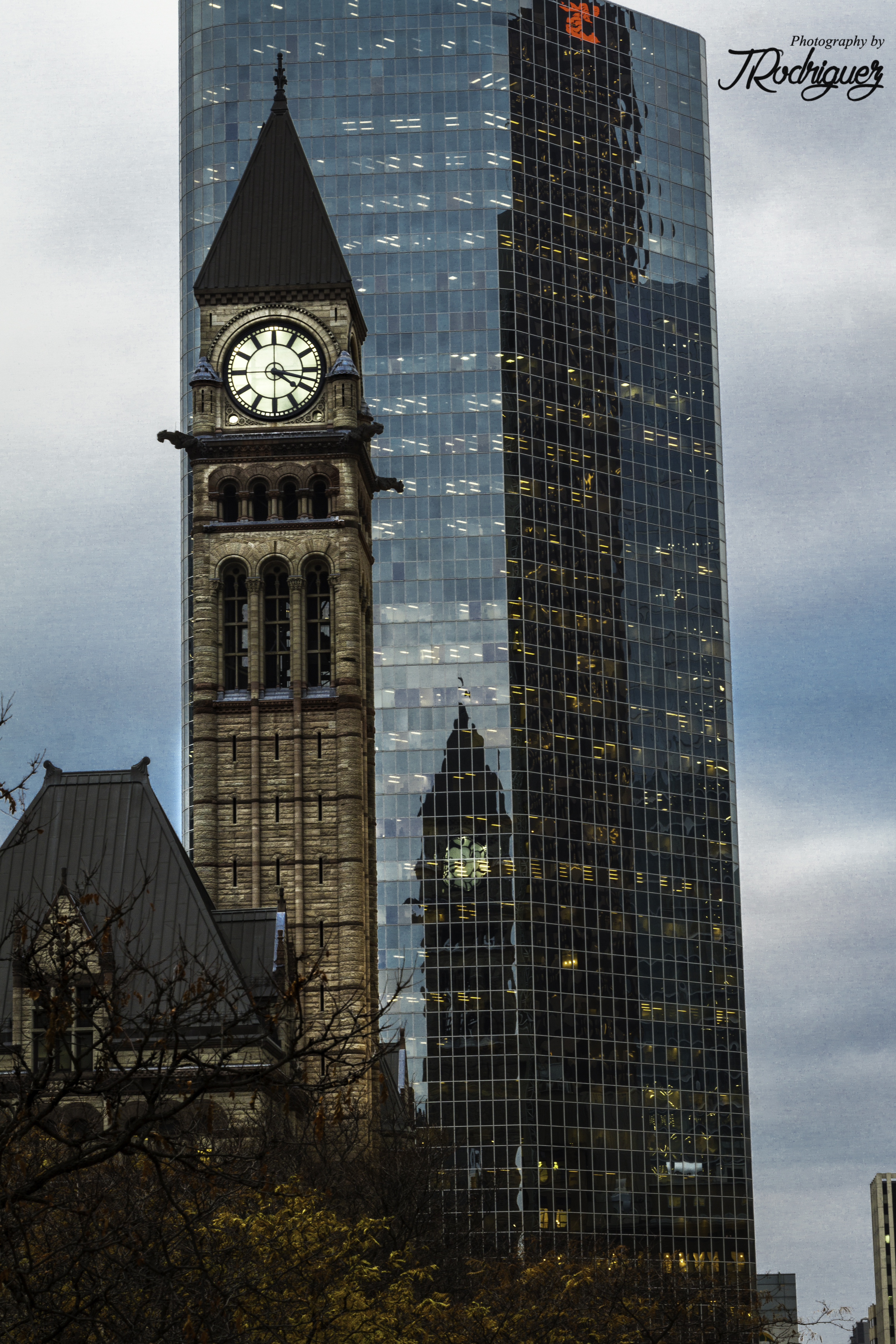 Old Toronto's City Hall Clock Tower