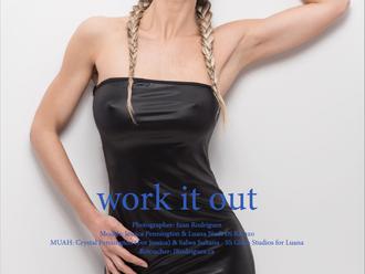 Femme Rebelle Magazine Published Work - Luana Nudi Di Rienzo & JP