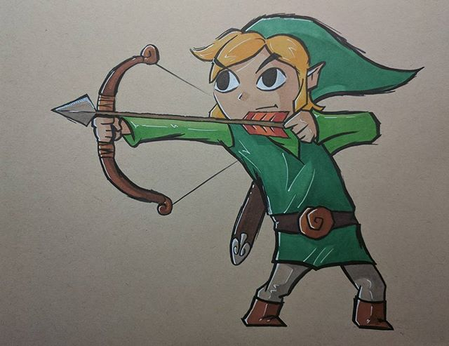 Windwaker Link
