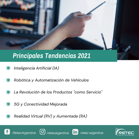 Principales Tendencias 2021
