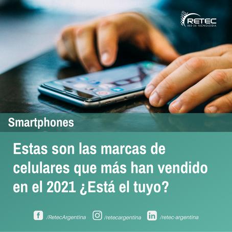 📢Estas son las marcas de celulares que más han vendido en el 2021