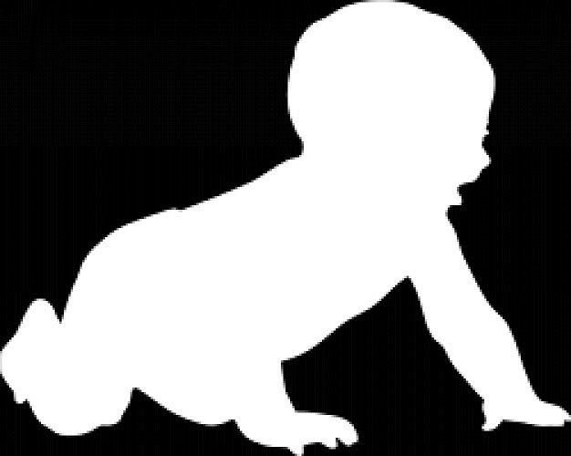 Siluetas De Bebés