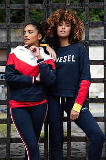 """Lifestyle shot from Diesel """"Add Life"""" Campaign, with Kamilo Bustamante, Luke Murphy, Portia Prince, Paige Drury Lawrence from Above and Beyond Group. Shot in Ireland in 2018."""