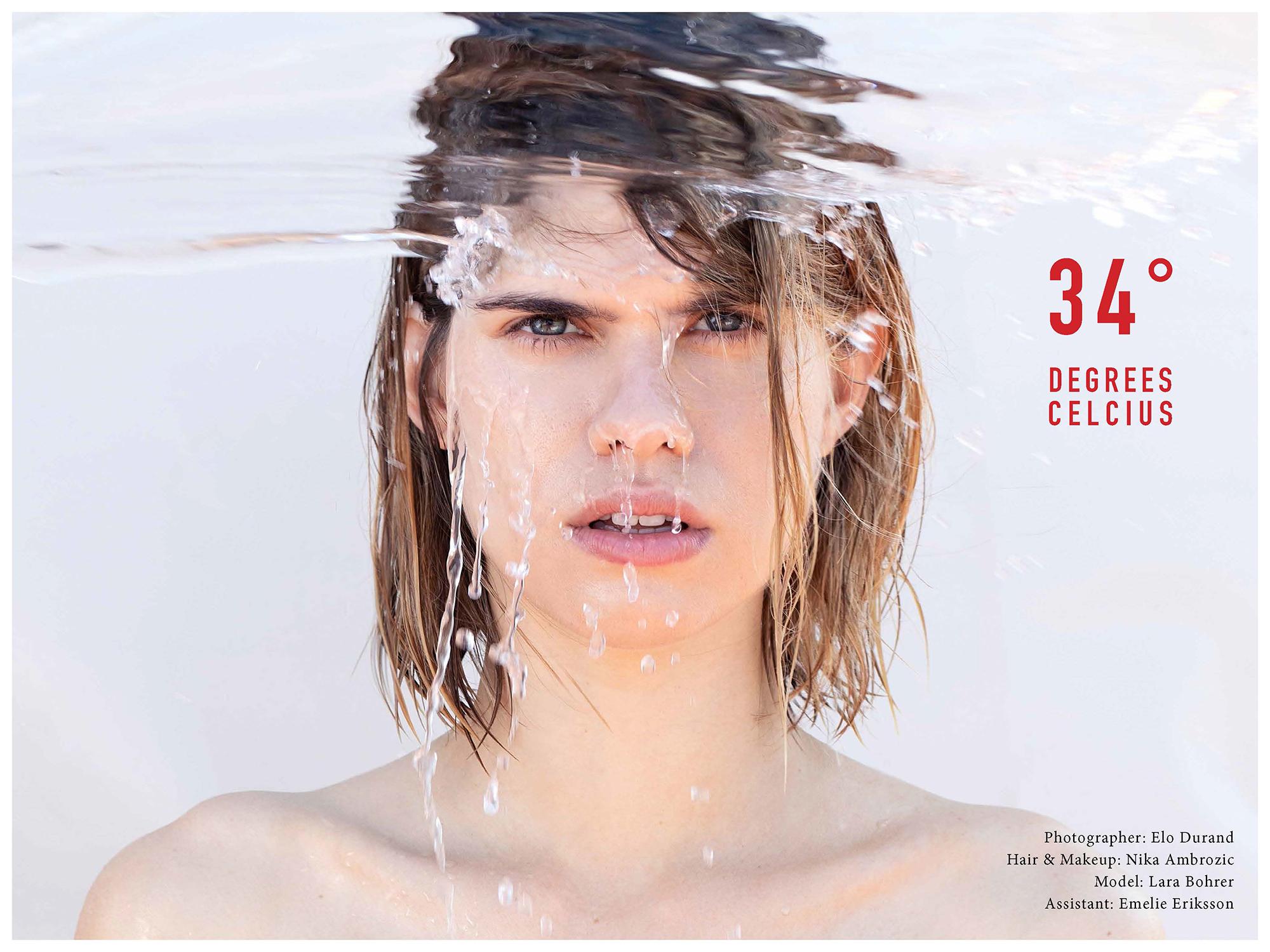 34 Degrees Celcius for Kodd Magazine