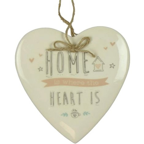 Love Life 'Home' Hanging Plaque