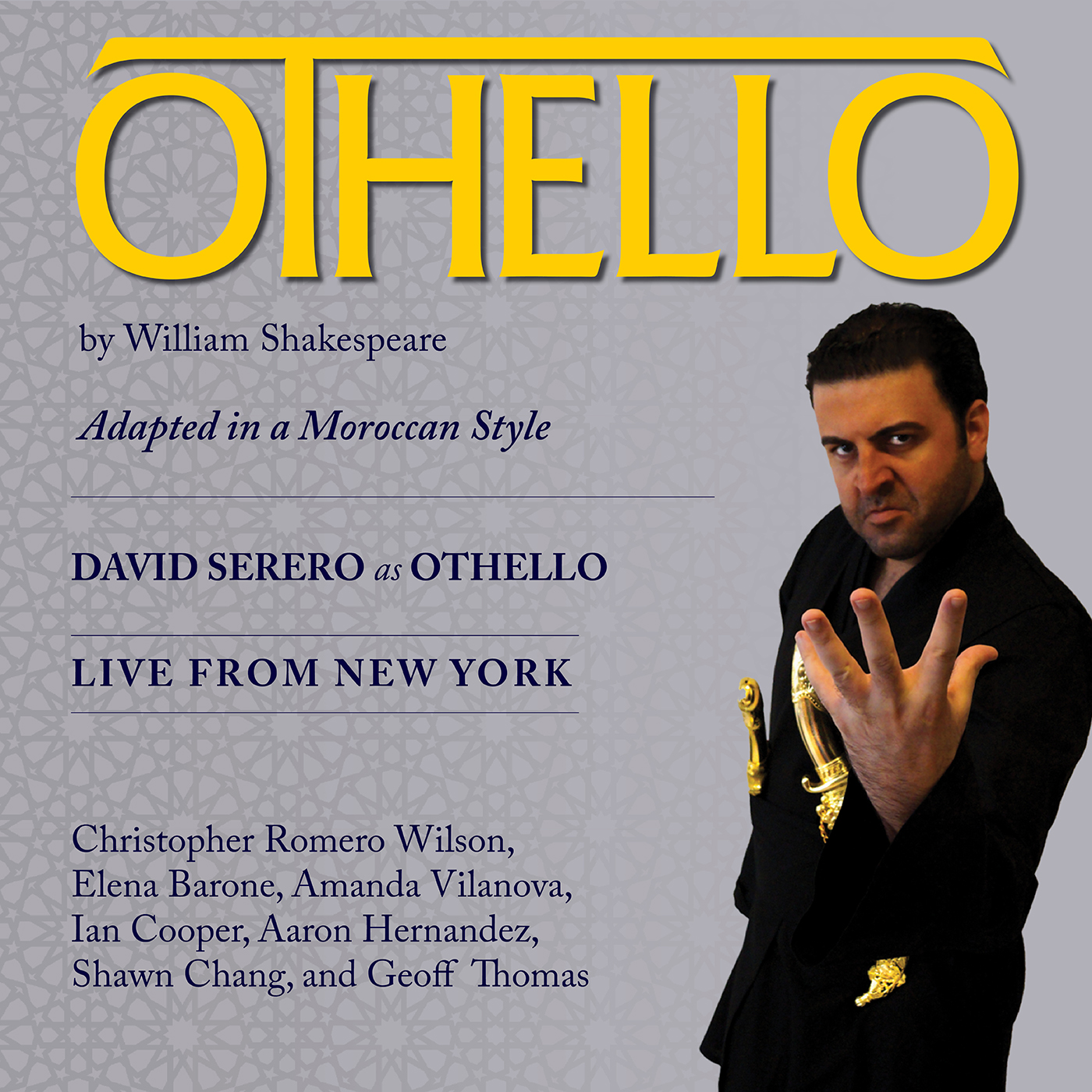 OTHELLO David Serero Live