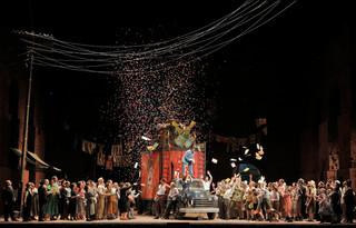 Metropolitan Opera: CavalleriaRusticana/ Pagliacci, Returns With FabioLuisi Conducting Sir David M