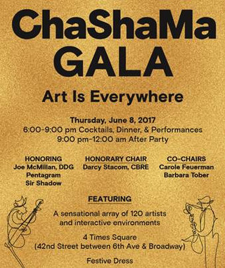 ChaShaMa Gala brings the best of the Art scene for a great cause