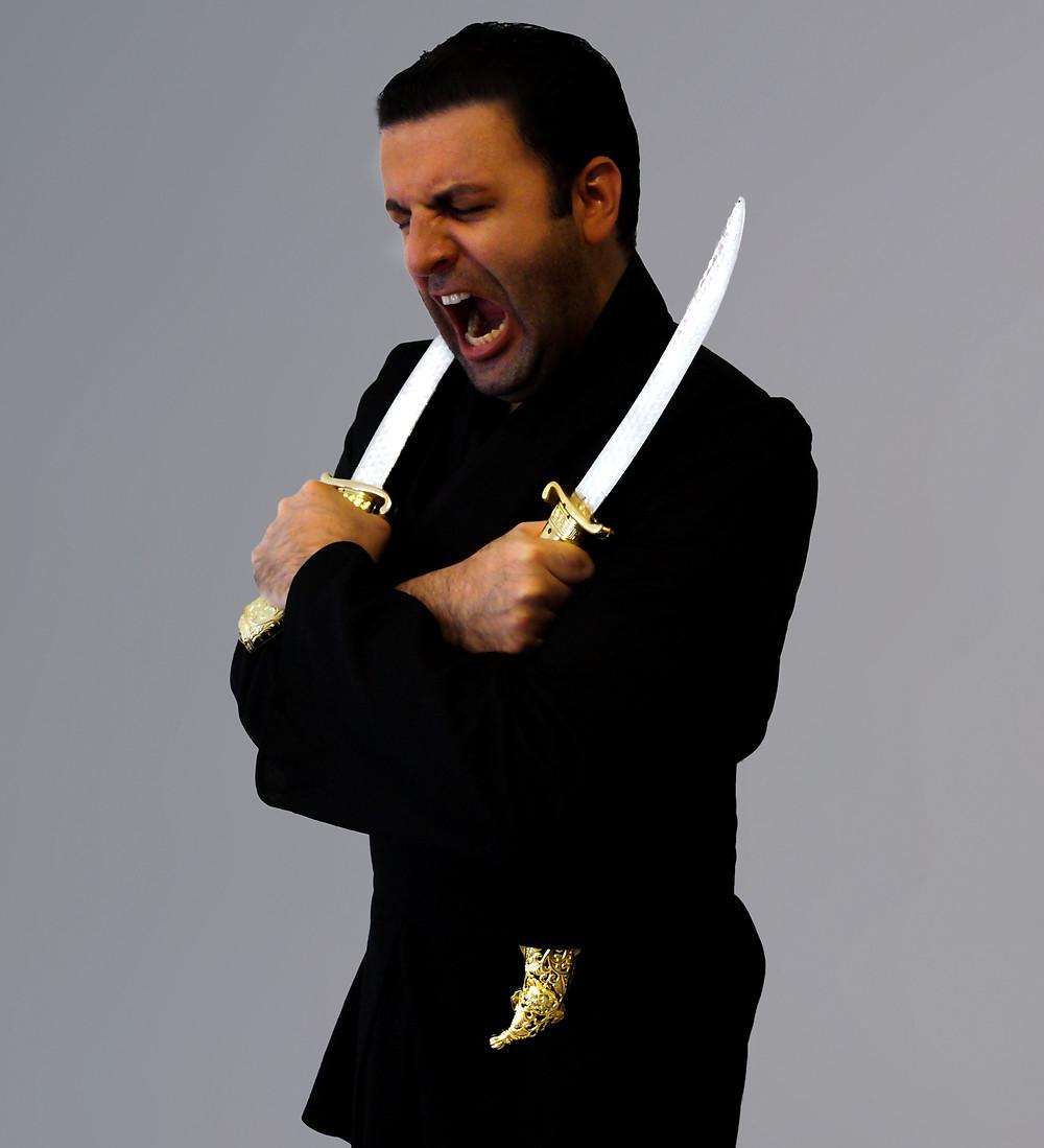 David Serero as Othello