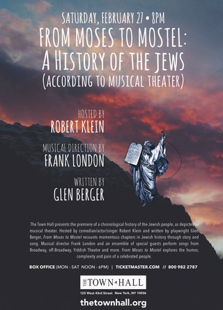 FROM MOSES TO MOSTEL:A History of The Jews