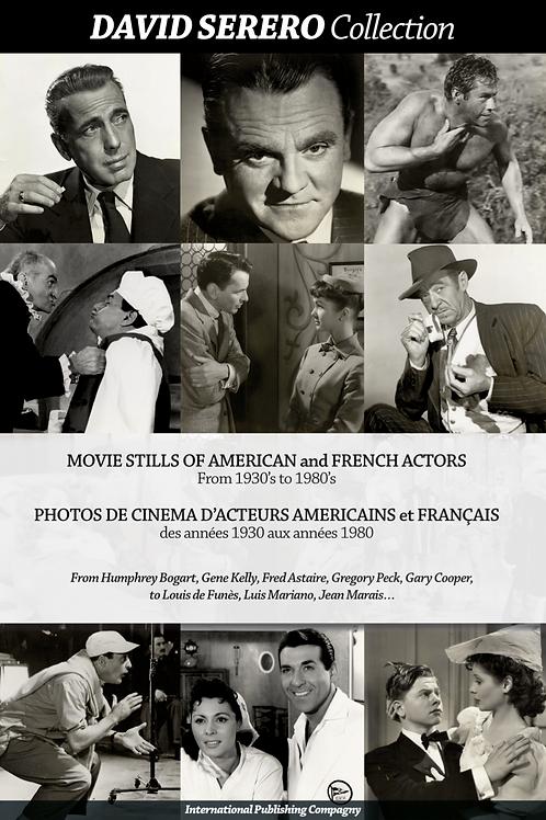 Movie Stills of Actors of American & French Cinema