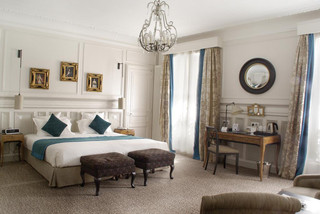 HOTEL BRADFORD has the Charm, Chic and Class as one of the best Parisian boutique hotel