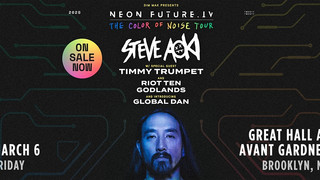Steve Aoki is bringing 'The Color of Noise' Tour to Brooklyn this March with special guest T