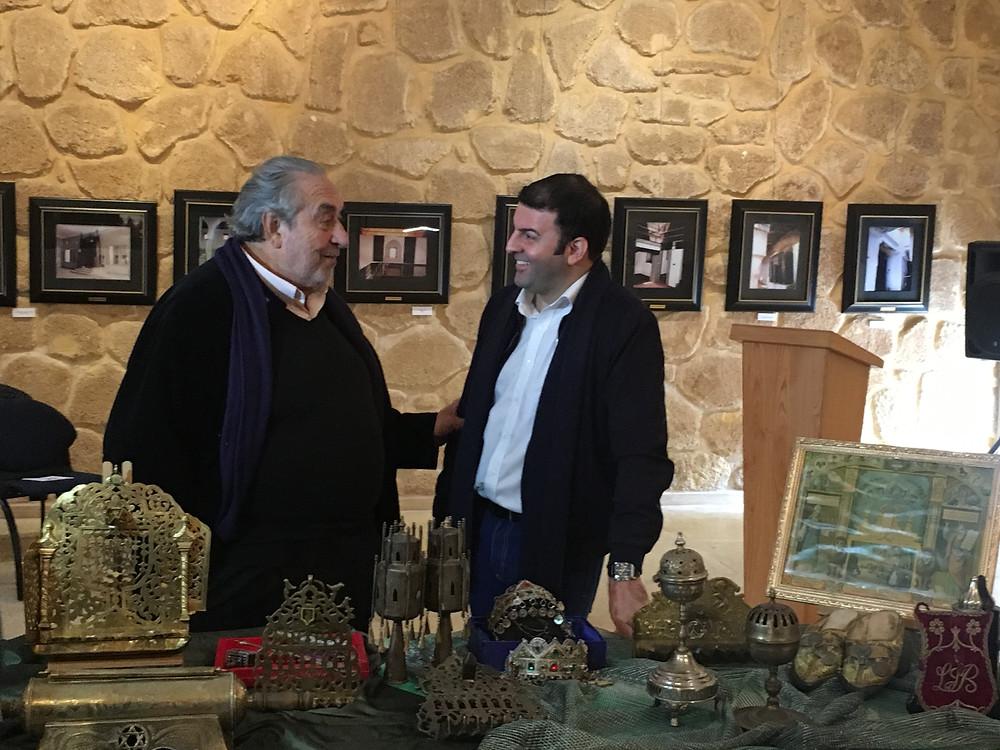 Le Musée du Judaisme Marocain à Casablanca reçoit la plus grande donation d'art Judaica Marocain offerte par le chanteur d'opéra David Serero