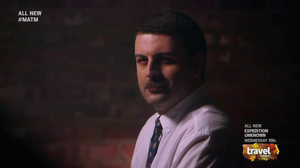 David Serero in Mysteries at the Museum on Travel Channel US TV Series