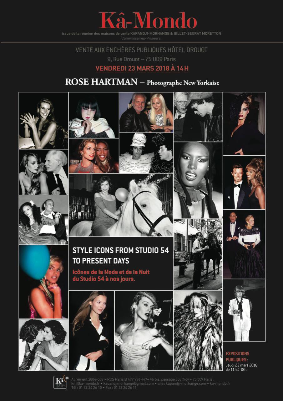 Studio 54 Drouot - Rose Hartman